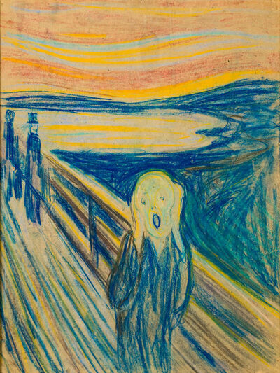 Edvard Munch, 'The Scream', 1893-1910