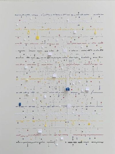 Marco Maggi, 'Letters to P-A-R-I-S, Letter to P', 2020