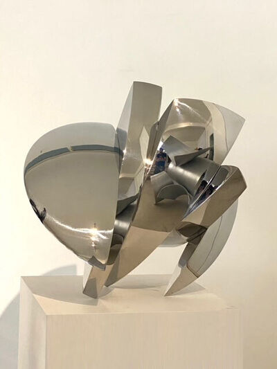 Anachar Basbous, 'No Title, Stainless Steel Sculpture', 2021