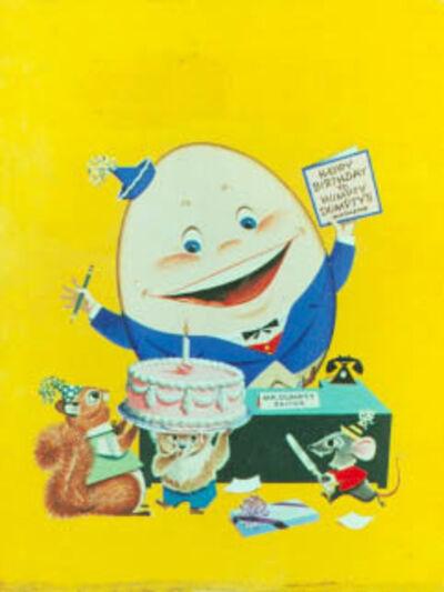 Dan Lawler, 'Humpty Dumpty Children's Magazine Cover', 1953