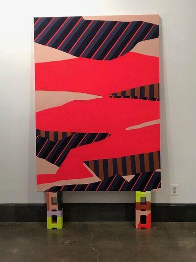Natalie Lanese, 'Shape Tectonics (Pink)', 2021
