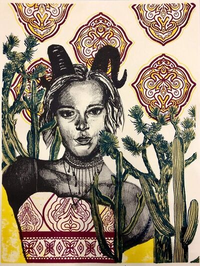 Caroline Huntley, 'Capricorn (horny self-portrait)', 2020