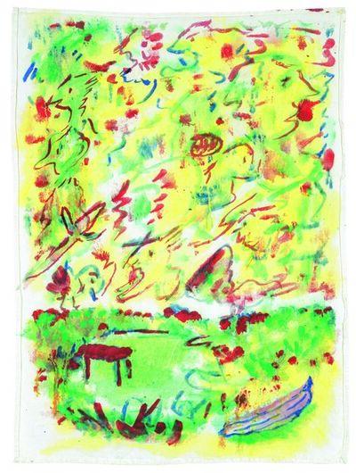 Alfred Klinkan, 'Handkerchief Painting', 1979
