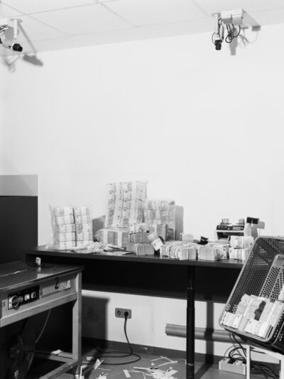Aleix Plademunt, '1,750,000 euros on a desk waiting to be counted and packaged', 2013-2020