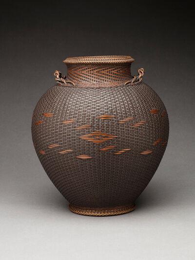 Monden Kogyoku, 'Chidori-Plaited Basket', 1950-1960