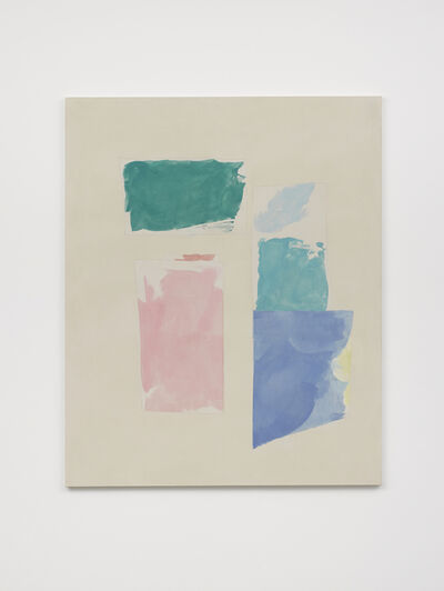 Peter Joseph, 'Turquoise, Blues, Pink', 2018