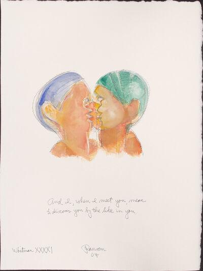John Ransom Phillips, 'And I when I met...', 2004