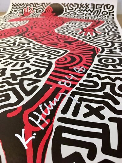 Keith Haring, 'Tony Shafrazi Gallery Exhibition Announcement', 1984