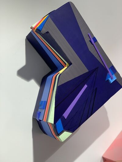 Mela M, 'Prismatic Angles into the Endmost Phase no. 7', 2019