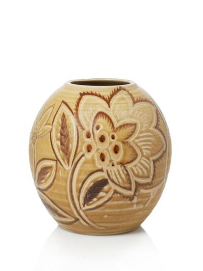 Royal Doulton, 'a glazed stoneware vase designed by Vera Huggins'