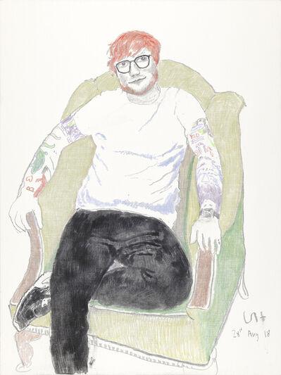 David Hockney, 'Ed Sheeran', 2018