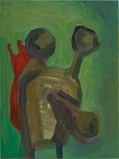 George Condo, 'Soft Green Abstraction', 1983
