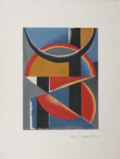 Lajos Kassák, 'Composition'