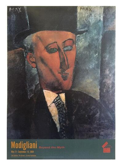 Amedeo Modigliani, 'Amadeo Modigliani Jewish Musuem, New York Original Lithographic Musuem Exhibition Poster', 2004