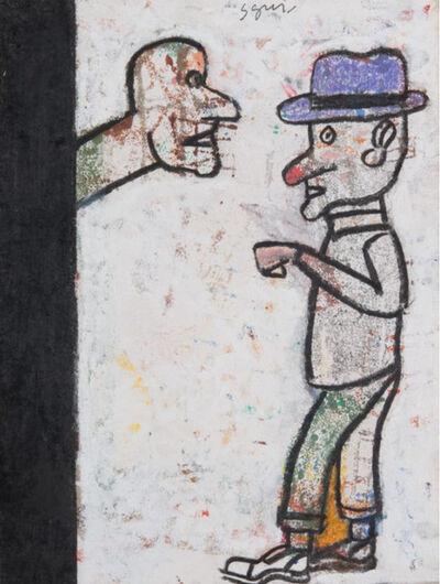 Antonio Seguí, 'Tener Diálogo', 2017
