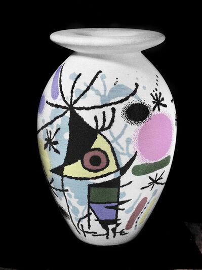 David Mach, 'White Miro Vase', 2013