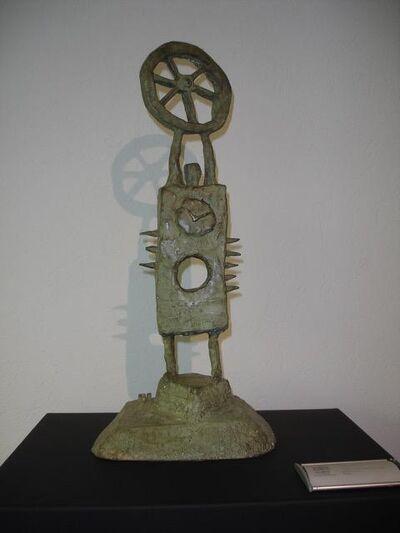 Carlos Vivar, 'Hombre de la rueda ', 2009
