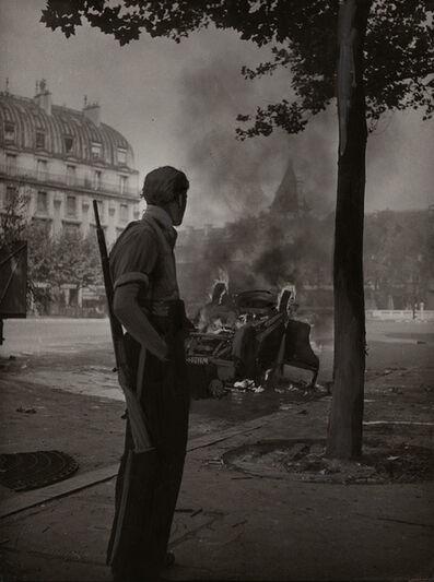Robert Doisneau, 'Place Saint-Michel, Paris, August 1944 (WWII)', 1944/1944c