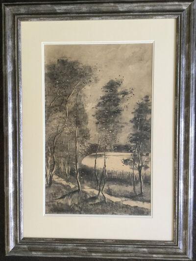 """Lesser Ury, '""""Sommertag am Schlachtensee""""', 1912"""