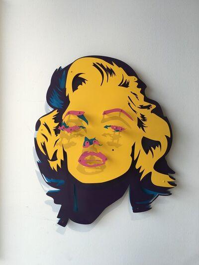 Michael Kalish, 'Michael Kalish, Marilyn (Yellow, Pink, Blue)', 2016