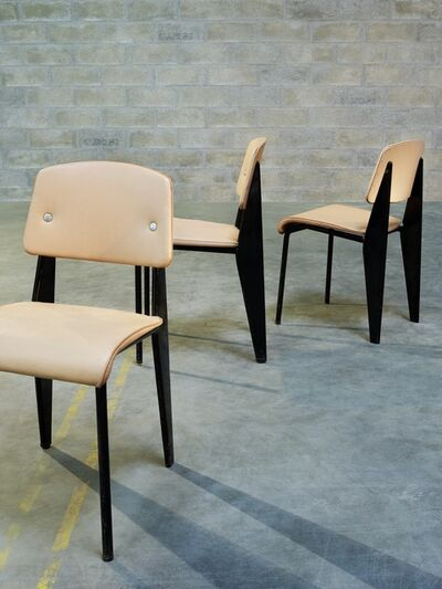 Jean Prouvé, 'Standard chairs', ca. 1950