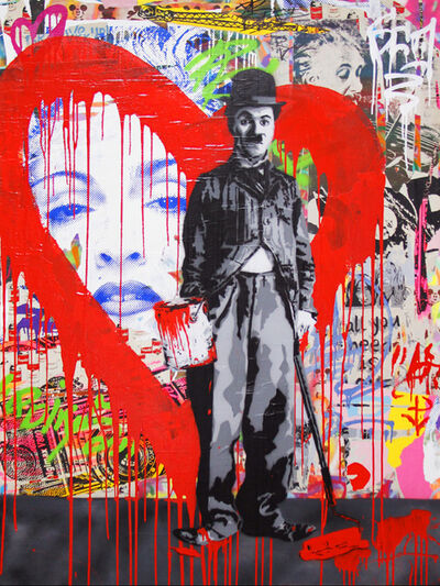 Mr. Brainwash, 'Charlie Chaplin', 2014