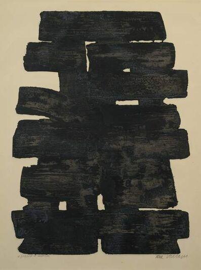 Pierre Soulages, 'Eau-forte XIII', 1957