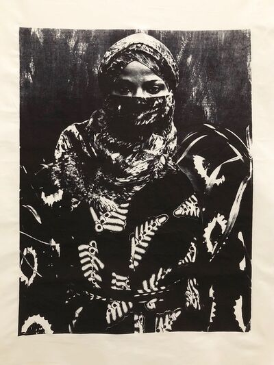 Zohra Opoku, 'Tye Dyed (variation 5)', 2017-2018