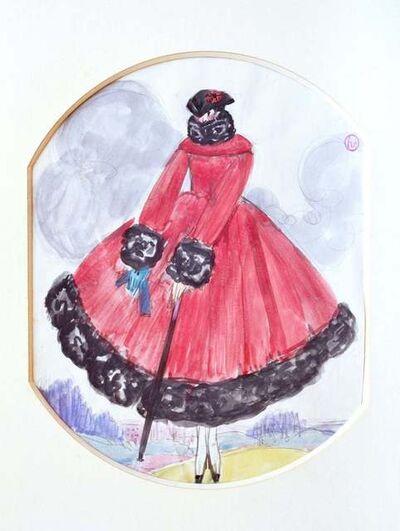 Georges Lepape, 'Le Manteau Rouge', 1920s