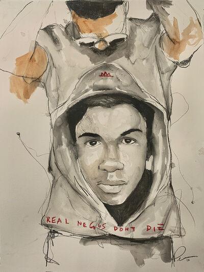 Fahamu Pecou, 'REAL NEGUS DON'T DIE: Sixteen (Trayvon Martin)', 2019