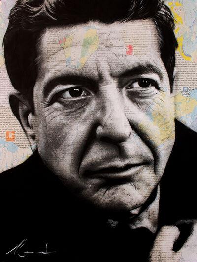 André Monet, 'Leonard Cohen ', 2019
