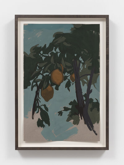 Matthew Benedict, 'Study of a Lemon Tree at Twilight', 2019