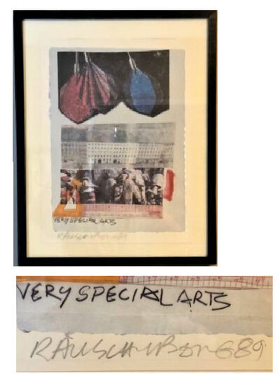 "Robert Rauschenberg, '""Very Special Arts"", 1989, SIGNED, A/P, Unknown Edition Size.', 1989"
