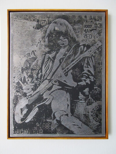 Shepard Fairey, 'Johnny Ramone', 2008