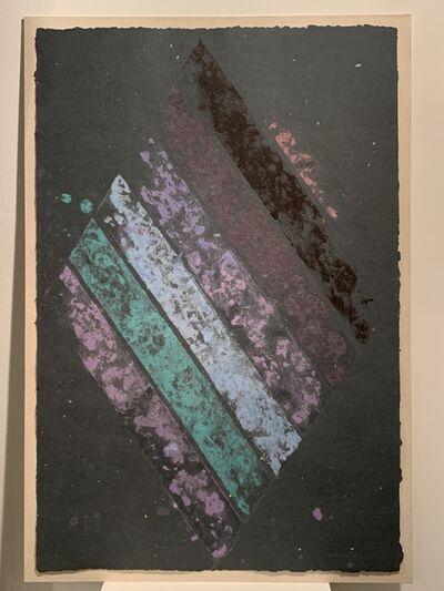 Kenneth Noland, 'Diagonal Stripes VI-8', 1978