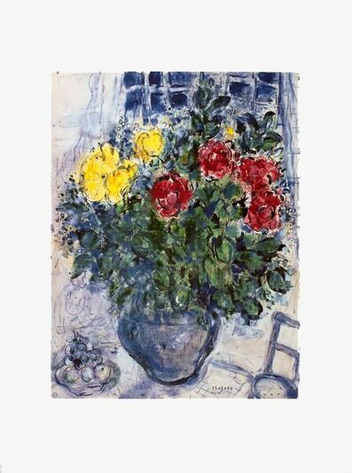Marc Chagall, 'Vase De Fleurs', 2000