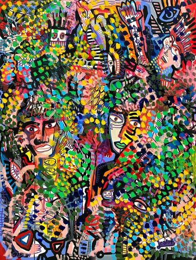 Julien Calot, 'Floral Madness', 2019