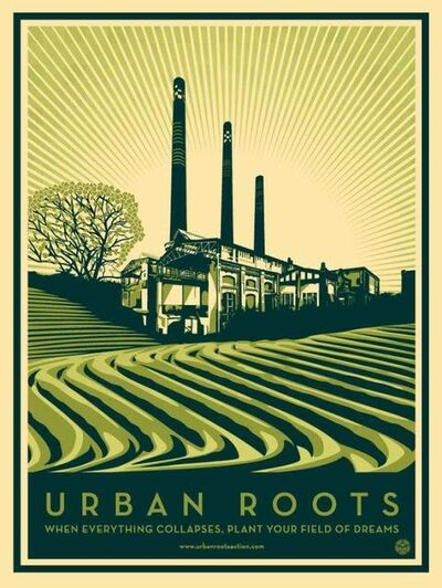 Shepard Fairey, 'Urban Roots', 2011