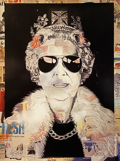 Mr. Brainwash, ''Queen Aviator'', 2012