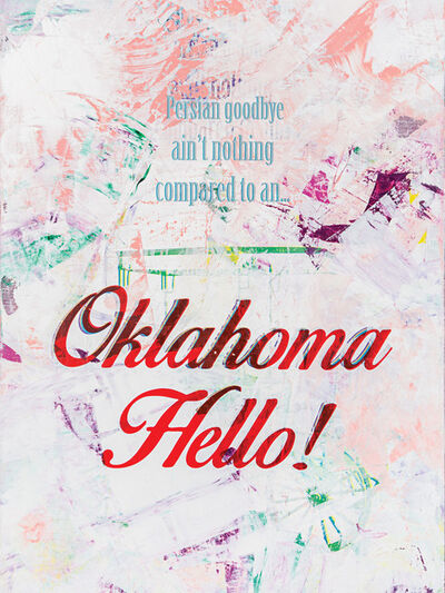 Zefrey Throwell, 'Oklahoma Hello!', 2015