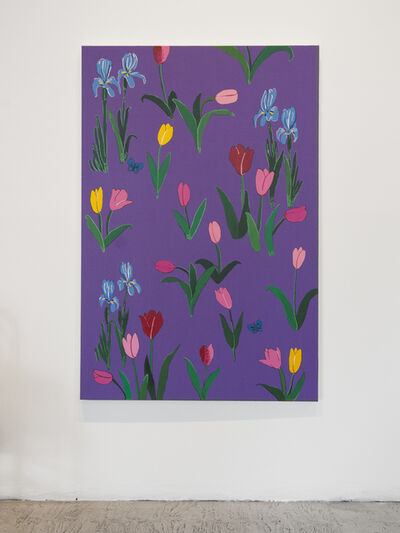 Libby Black, 'Tulips and Irises', 2016