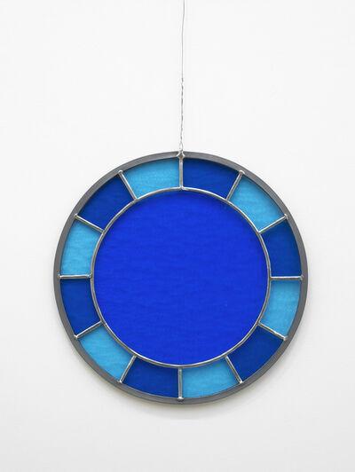 Ugo Rondinone, 'blue blue blue clock', 2012