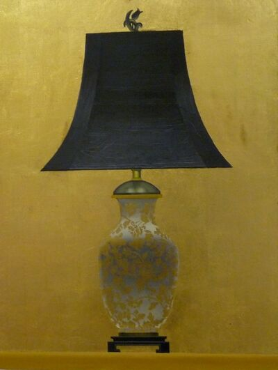 Patrick Kirwin, 'Lamp II (Gold and White Floral Base)'