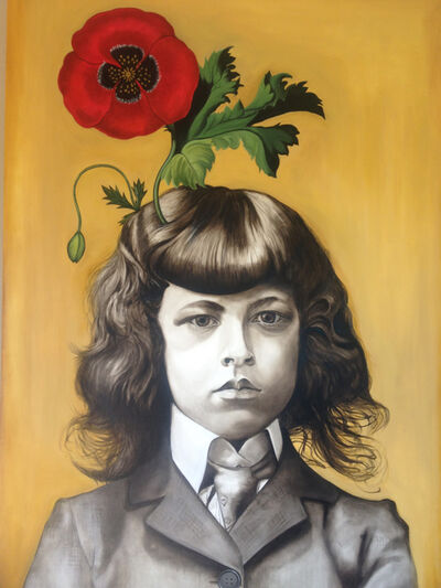 Marianna Gartner, 'Boy with Flowers for Brains 3', 2017