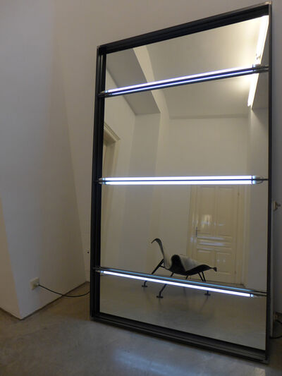Valentin Ruhry, '1300-2200 (réclamer) with mirror', 2014