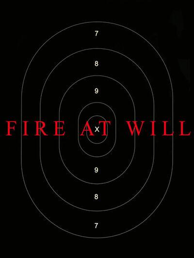 Ellwood T. Risk, 'Fire at Will', 2012
