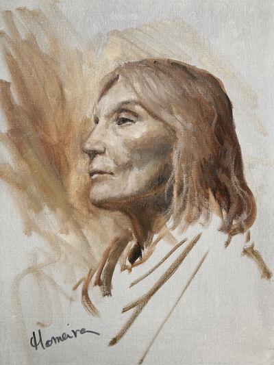 Homeira Mortazavi, 'Portrait of Wisdom', ca. 2018