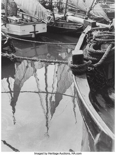Alfred Ehrhardt, 'Idyll auf dem Krabben kutter hafen', circa 1940-50s