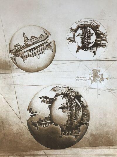Arnaldo Pomodoro, 'Sfera con sfera', 1981