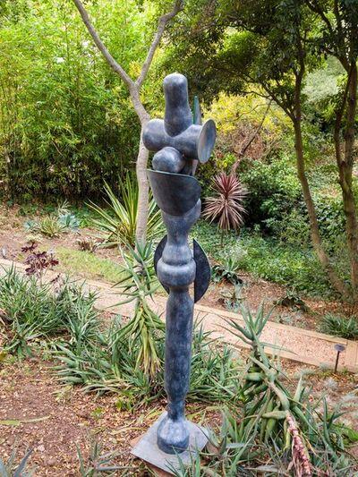 Edoardo Villa, 'Tall Form in Green', 1993